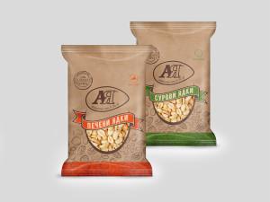 Дизайн на опаковка на ядки АЯ